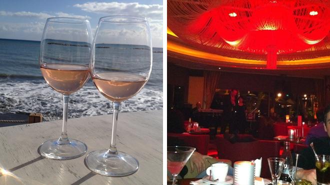 Seafood restaurant ⇨ Lounge