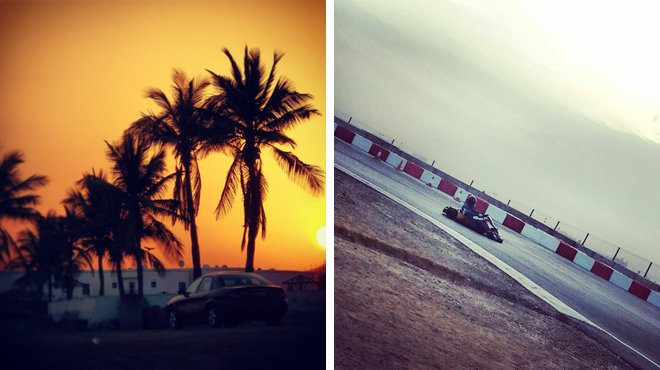 Beach ⇨ Racetrack