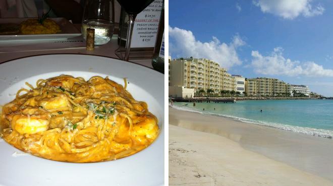 Italian restaurant ⇨ Harbor / marina