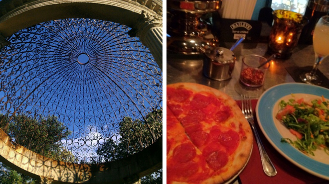 Park ⇨ Italian restaurant