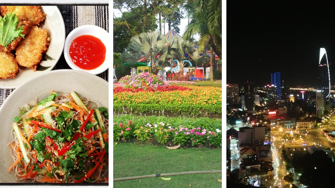 Vegetarian / vegan restaurant ⇨ Park ⇨ Bar