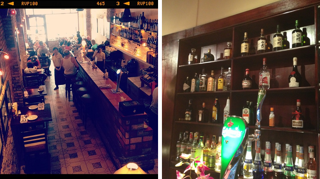 American restaurant ⇨ Whisky bar