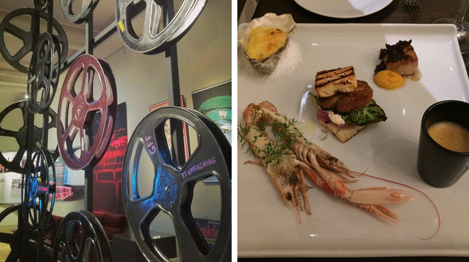Experience exhibits ⇨ Seafood restaurant