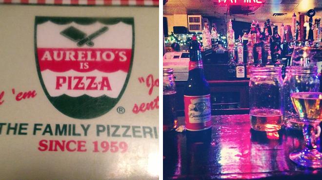 Pizza place ⇨ Bar