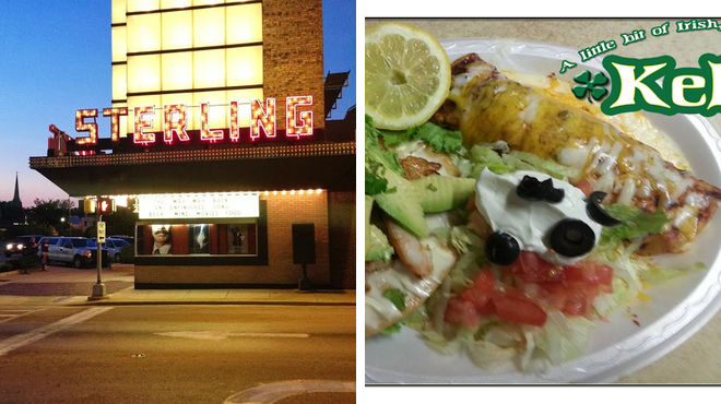 Movie theater ⇨ Restaurant
