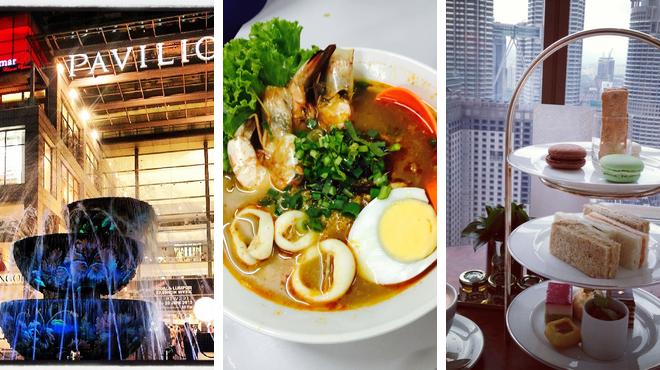Mall ⇨ Thai restaurant ⇨ Bar