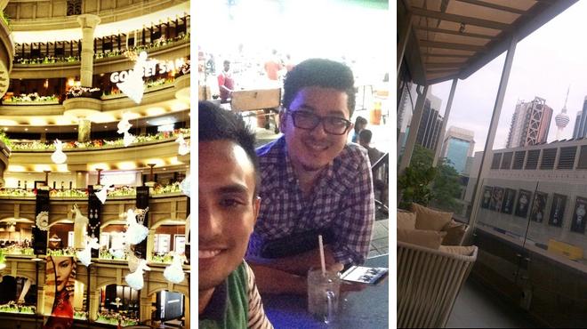 Mall ⇨ Asian restaurant ⇨ Lounge