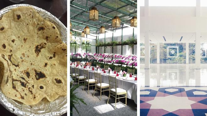 Indian restaurant ⇨ Garden ⇨ Experience exhibits