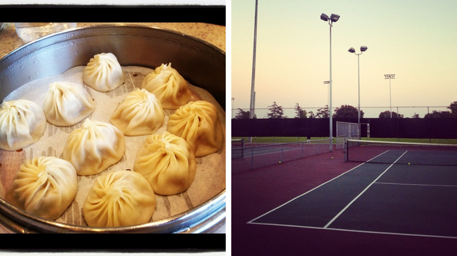 Dumpling restaurant ⇨ Park