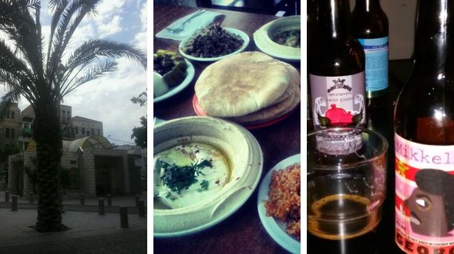 Plaza ⇨ Mediterranean restaurant ⇨ Brewery