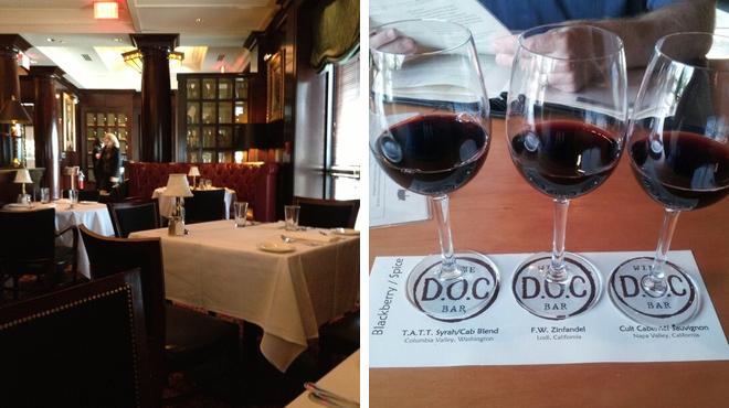 American restaurant ⇨ Wine bar
