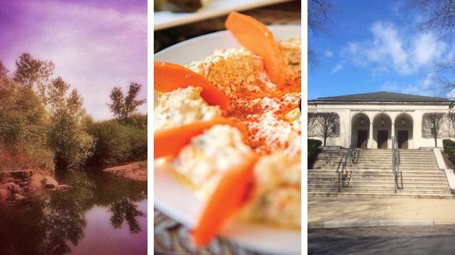 Park ⇨ Turkish restaurant ⇨ Learn about art