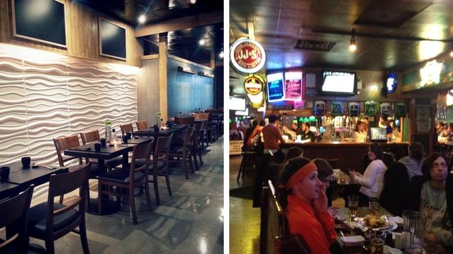 Sushi restaurant ⇨ Pub