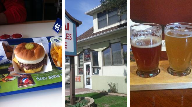 Fast food restaurant ⇨ Thai restaurant ⇨ Brewery
