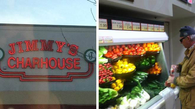 Steakhouse ⇨ Supermarket