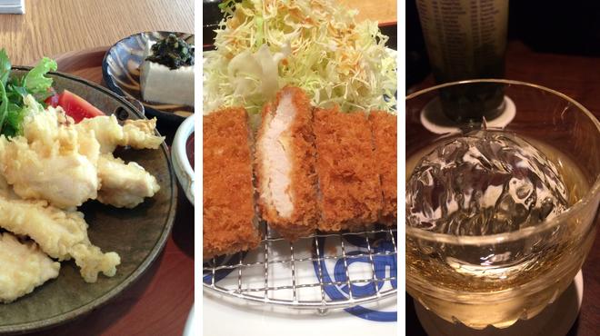 Japanese restaurant ⇨ Tonkatsu restaurant ⇨ Delicious Cocktails