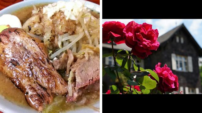 Ramen restaurant ⇨ Garden