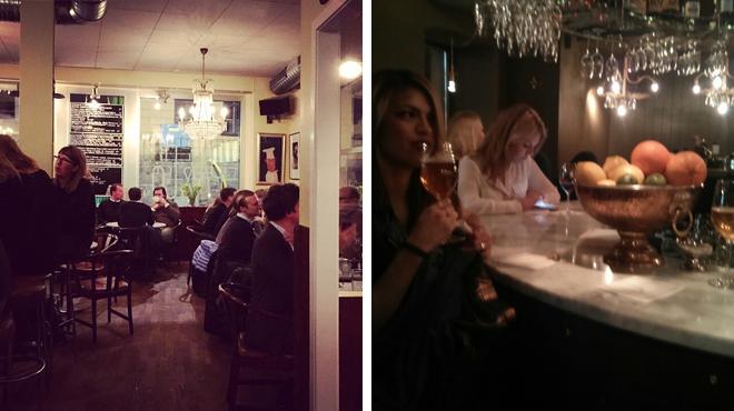 Scandinavian restaurant ⇨ Wine bar