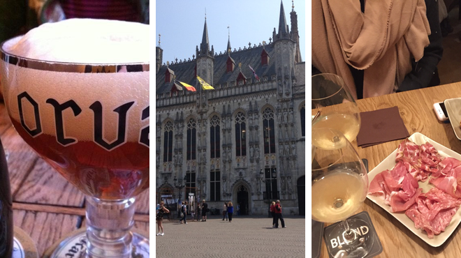 Beer bar ⇨ Plaza ⇨ Wine bar