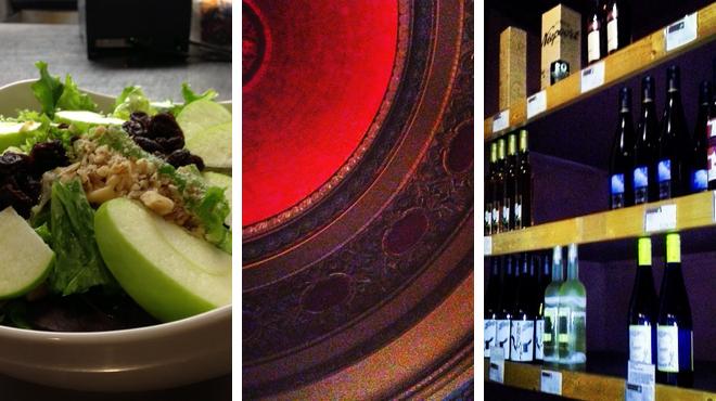 Breakfast spot ⇨ Catch a movie ⇨ Wine bar
