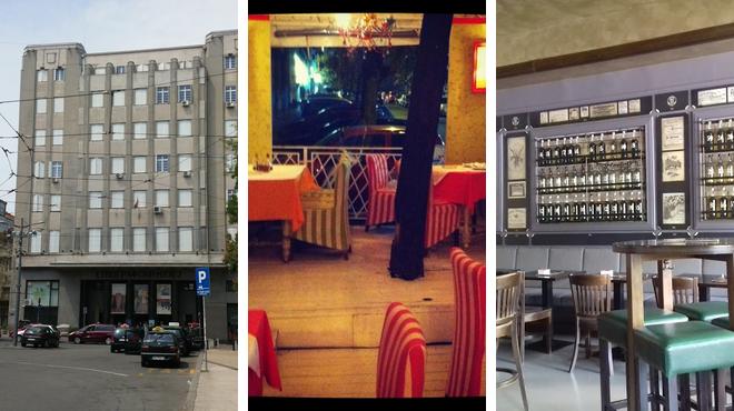 Museum ⇨ Italian restaurant ⇨ Bar