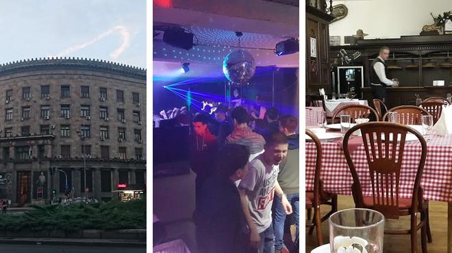 Museum ⇨ Night club ⇨ Restaurant