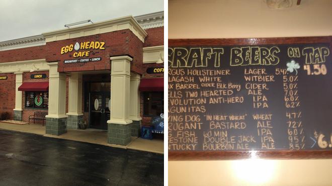 Breakfast spot ⇨ Bar