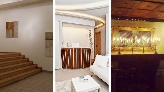 Art gallery ⇨ Beauty salon ⇨ Italian restaurant