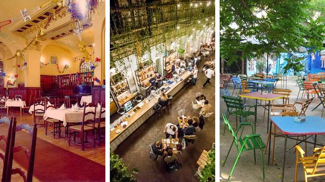 Art gallery ⇨ Restaurant ⇨ Bar