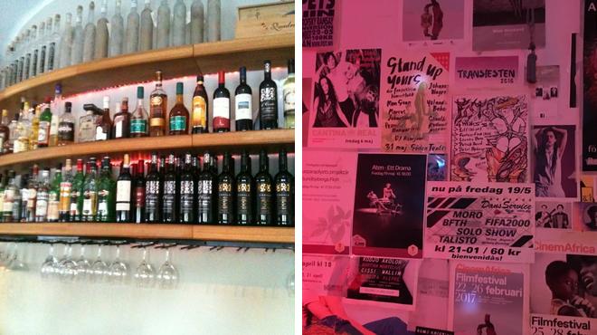 Italian restaurant ⇨ Gay bar