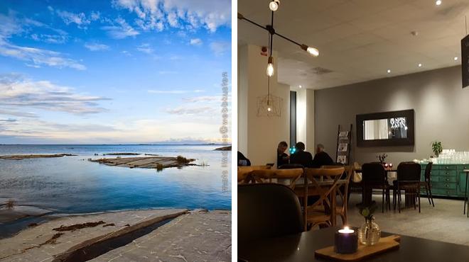 Art gallery ⇨ Restaurant