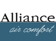 Website for Alliance Air Comfort