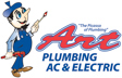 Website for Art Plumbing & Air Conditioning, LLC.