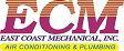 Website for East Coast Mechanical, Inc.