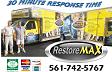 Website for RestoreMax Disaster Restoration and Construction