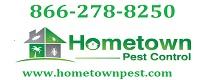 Website for Hometown Pest Control, Inc.