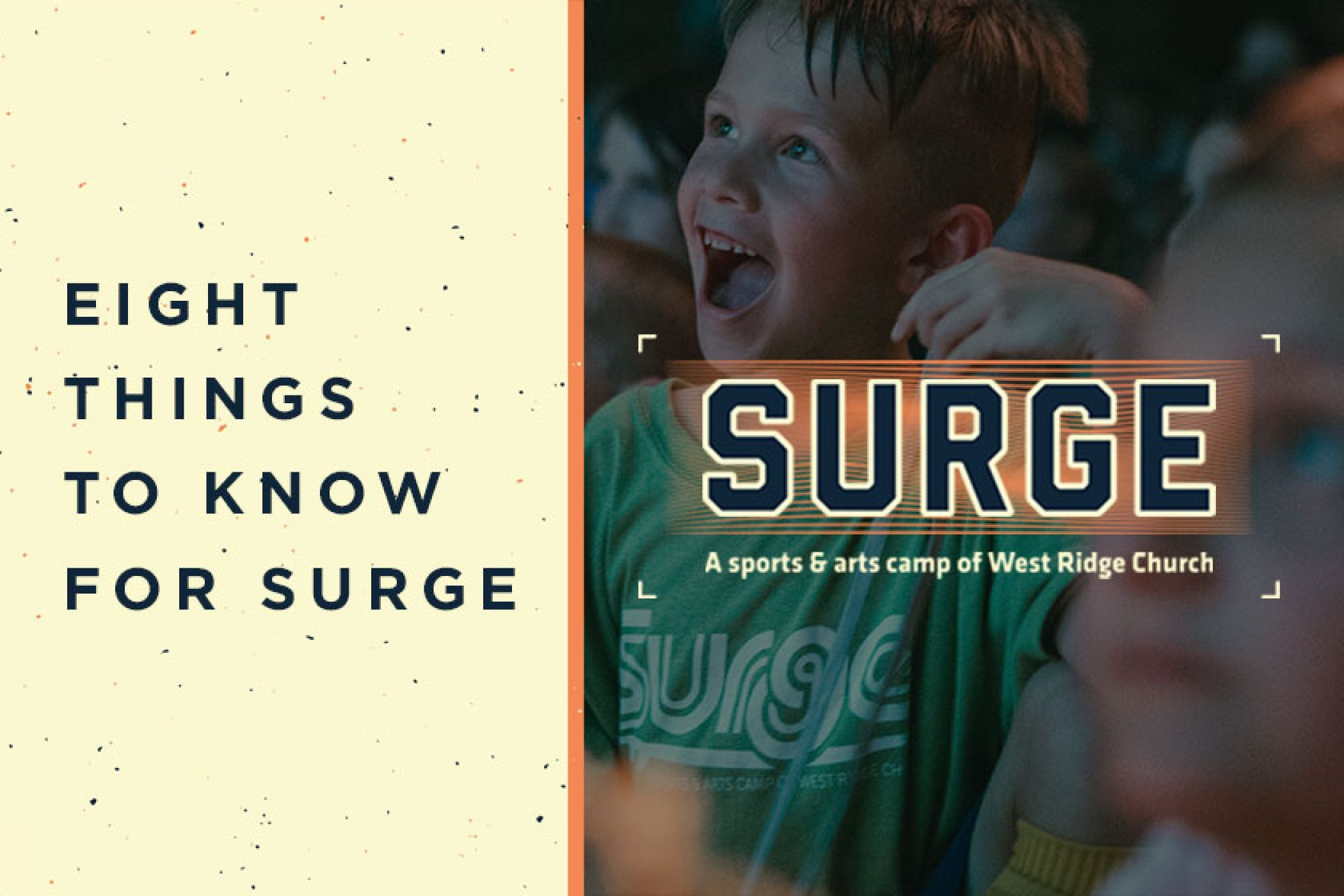 8 Things Parents should know for SURGE Camp