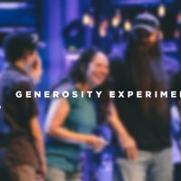 Generosity Experiment – August 2017