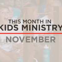 This Month in Kids Ministry – November