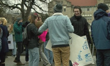Womens' March Held at University of Evansville for Equality