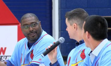 St. Louis Cardinals Stop by Evansville