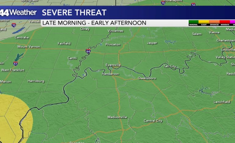 Severe Storm Threat to Single Digit Wind Chills