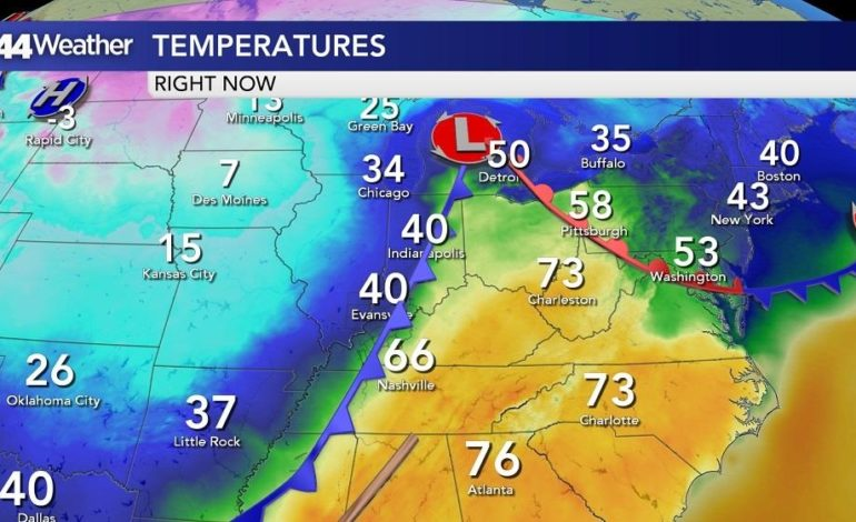 From Severe Weather to Bitter Cold