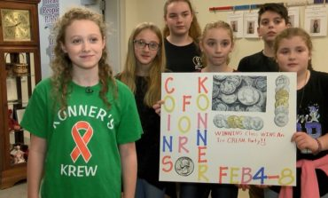 Highland Elementary Students Collecting 'Coins for Konner'