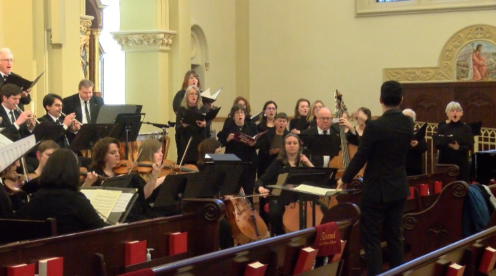 OSO, Chorus Performs for 'Arts at the Cathedral'