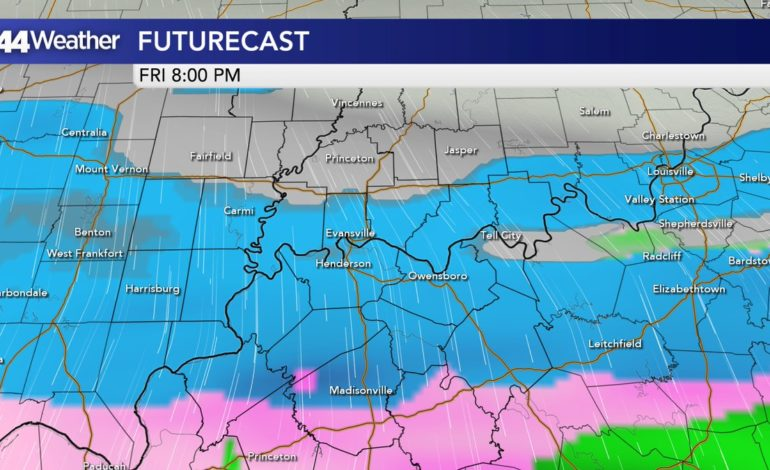 UPDATE: Snow Shifting Southward, Slick Conditions Still Expected