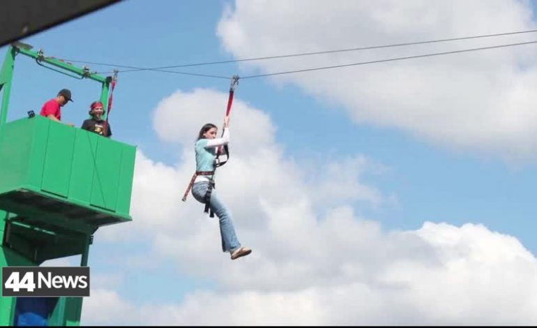 Zipline Coming To Downtown Evansville For One Day
