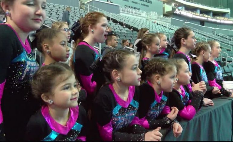 Ford Center Hosts Cheer Competition