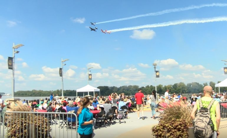 All Eyes Are On The Skies At The Owensboro Air Show