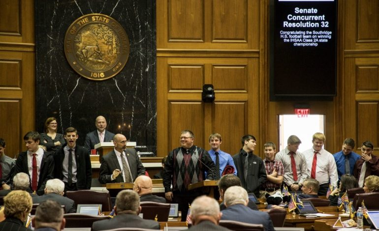 Area Lawmaker Recognizes Southridge High School Football Team